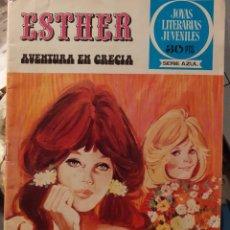 Tebeos: JOYAS LITERARIAS FEMENINAS-Nº 22 -ESTHER-AVENTURA EN GRECIA-1ª ED.-1978-CASI BUENO-LEA-3910. Lote 221784077