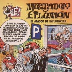 Tebeos: MORTADELO Y FILEMON. EL ATASCO DE INFLUENCIAS. OLÉ 3. 1999. 3ª EDICIÓN. BUEN ESTADO.. Lote 221803057