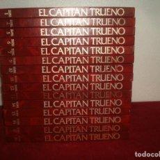 Tebeos: CAPITAN TRUENO EDICION HISTORICA 15 TOMOS DE 18 1987. Lote 221831926