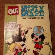 Tebeos: COMIC DE OLE ZIPI Y ZAPE EN MAS TREMENDOS CADA DIA DEL AÑO 1977 Nº 2. Lote 221845993