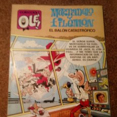Tebeos: COMIC DE OLE MORTADELO Y FILEMON EN EL BALON CATASTROFICO AÑO 1992 Nº M. 275. Lote 221870706