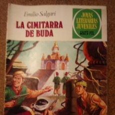 Tebeos: COMIC DE JOYAS LITERARIAS JUVENILES LA CIMITARRA DE BUDA DEL AÑO 1979 Nº 225. Lote 221886615