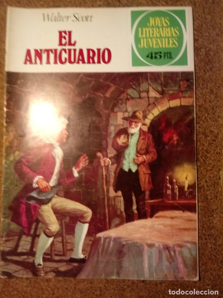 COMIC DE JOYAS LITERARIAS JUVENILES EL ANTICUARIO DEL AÑO 1980 Nº 227 (Tebeos y Comics - Bruguera - Joyas Literarias)