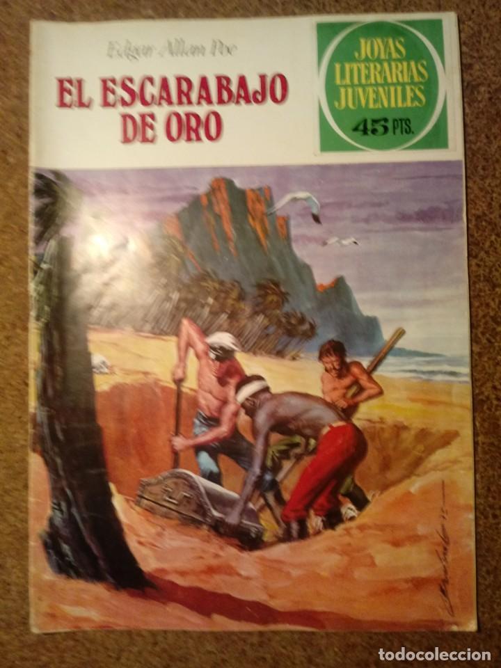 COMIC DE JOYAS LITERARIAS JUVENILES EL ESCARABAJO DE ORO DEL AÑO 1979 Nº 88 (Tebeos y Comics - Bruguera - Joyas Literarias)