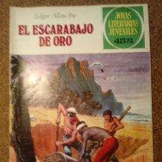 Tebeos: COMIC DE JOYAS LITERARIAS JUVENILES EL ESCARABAJO DE ORO DEL AÑO 1979 Nº 88. Lote 221887067