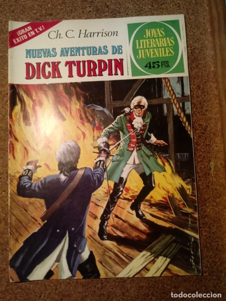COMIC DE JOYAS LITERARIAS JUVENILES NUEVAS AVENTURAS DE DICK TURPIN AÑO 1979 Nº 92 (Tebeos y Comics - Bruguera - Joyas Literarias)