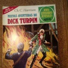 Tebeos: COMIC DE JOYAS LITERARIAS JUVENILES NUEVAS AVENTURAS DE DICK TURPIN AÑO 1979 Nº 92. Lote 221887871