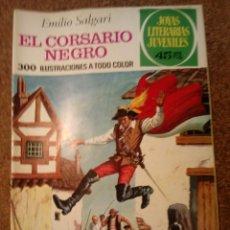 Tebeos: COMIC DE JOYAS LITERARIAS JUVENILES EL CORSARIO NEGRO DEL AÑO 1977 Nº 95. Lote 221888586