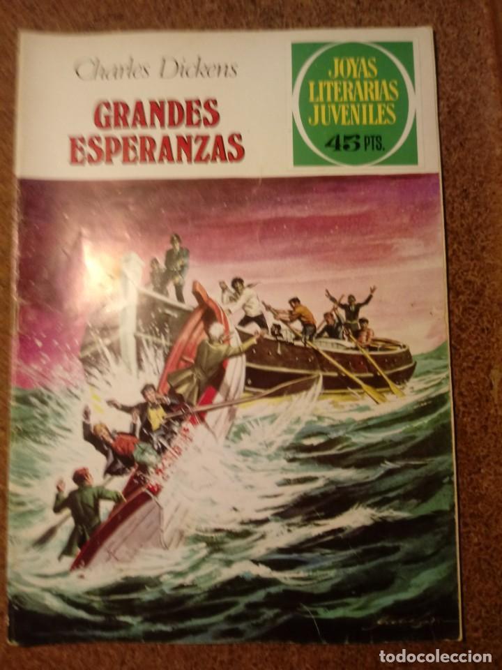 COMIC DE JOYAS LITERARIAS JUVENILES EN GRANDES ESPERANZAS DEL AÑO 1979 Nº 150 (Tebeos y Comics - Bruguera - Joyas Literarias)