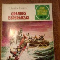 Tebeos: COMIC DE JOYAS LITERARIAS JUVENILES EN GRANDES ESPERANZAS DEL AÑO 1979 Nº 150. Lote 221888885