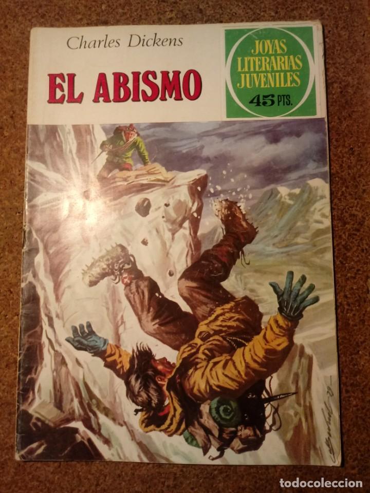COMIC DE JOYAS LITERARIAS JUVENILES EL ABISMO DEL AÑO 1979 Nº 218 (Tebeos y Comics - Bruguera - Joyas Literarias)