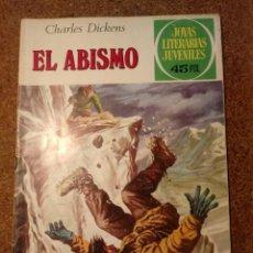 Tebeos: COMIC DE JOYAS LITERARIAS JUVENILES EL ABISMO DEL AÑO 1979 Nº 218. Lote 221889192