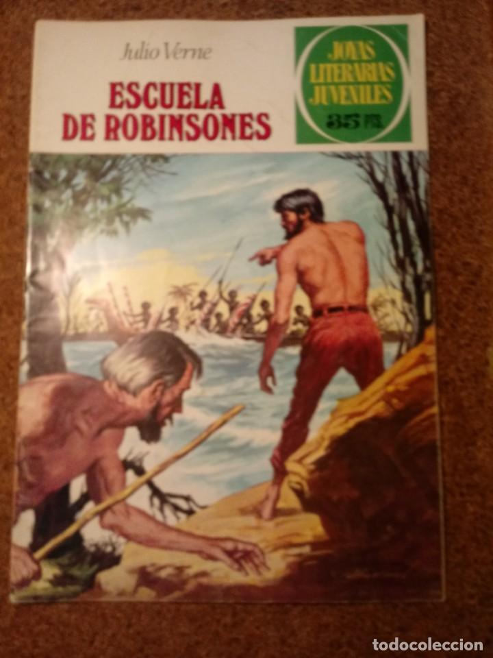 COMIC DE JOYAS LITERARIAS JUVENILES ESCUELA DE ROBINSONES DEL AÑO 1979 Nº 108 (Tebeos y Comics - Bruguera - Joyas Literarias)