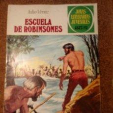 Tebeos: COMIC DE JOYAS LITERARIAS JUVENILES ESCUELA DE ROBINSONES DEL AÑO 1979 Nº 108. Lote 221889738