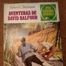 Tebeos: COMIC DE JOYAS LITERARIAS JUVENILES AVENTURAS DE DAVID BALFOUR DEL AÑO 1979 Nº 82. Lote 221890073
