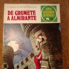 Tebeos: COMIC DE JOYAS LITERARIAS JUVENILES DE GRUMETE A ALMIRANTE DEL AÑO 50 Nº 50. Lote 221890868