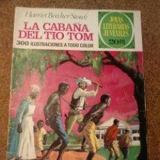 Tebeos: COMIC DE JOYAS LITERARIAS JUVENILES LA CABAÑA DEL TIO TOM DEL AÑO 1974 Nº 18. Lote 221892315