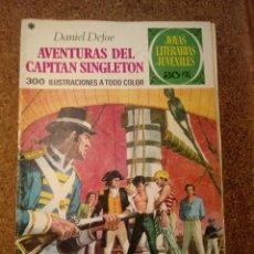 Tebeos: COMIC DE JOYAS LITERARIAS JUVENILES AVENTURAS DEL CAPITAN SINGLETON DEL AÑO 1978 Nº 10. Lote 221892765