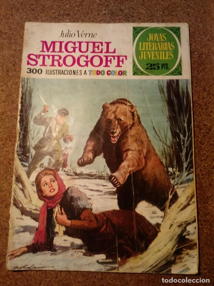 COMIC DE JOYAS LITERARIAS MIGUEL STROGOFF DEL AÑO 1975 Nº 1 (Tebeos y Comics - Bruguera - Joyas Literarias)