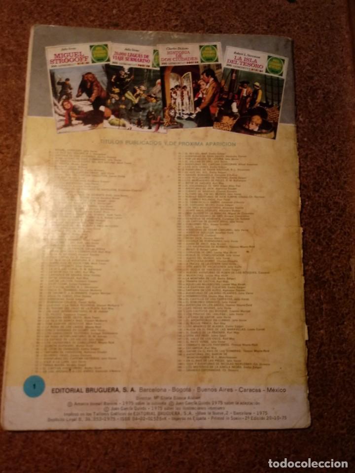 Tebeos: COMIC DE JOYAS LITERARIAS MIGUEL STROGOFF DEL AÑO 1975 Nº 1 - Foto 2 - 221893720
