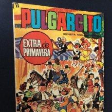 Tebeos: COMIC PULGARCITO EXTRA DE PRIMAVERA 1966 EDITORIAL BRUGUERA MUY NUEV0. Lote 221899083
