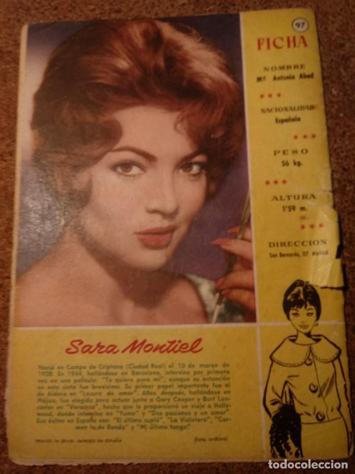 Tebeos: COMIC SISSI JUVENIL DEL AÑO I 1956 Nº 40 - Foto 2 - 221927263