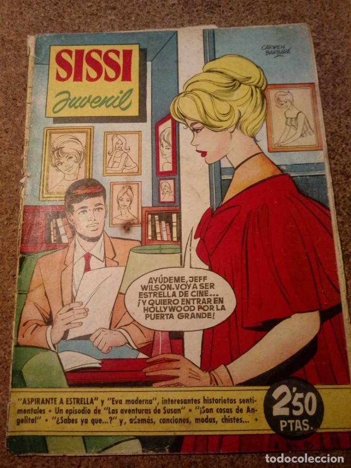 COMIC SISSI JUVENIL DEL AÑO I 1960 Nº 35 (Tebeos y Comics - Bruguera - Sissi)