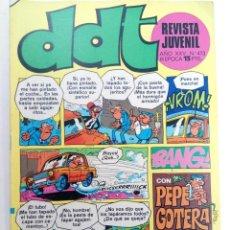 Tebeos: DDT - AÑO XXV Nº 473 (SIN USAR, DE DISTRIBUIDORA). Lote 221928146