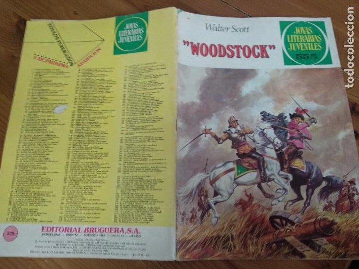 JOYAS LITERARIAS JUVENILES Nº 230 -WOODSTOCK - 1ª EDICIÓN 27.10.1980 (Tebeos y Comics - Bruguera - Joyas Literarias)
