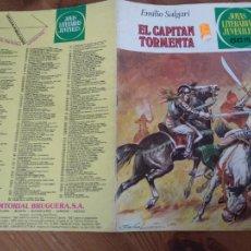 Tebeos: JOYAS LITERARIAS Nº 239 EL CAPITAN TORMENTA (BRUGUERA) PRIMERA EDICION. Lote 221932610
