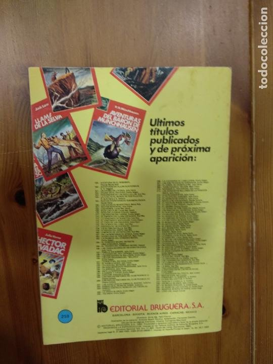 Tebeos: JOYAS LITERARIAS JUVENILES - Nº 259 - NUESTRA SEÑORA DE PARIS - BRUGUERA - AÑO 1982.1ª ED - Foto 3 - 221932838