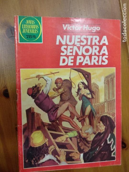 JOYAS LITERARIAS JUVENILES - Nº 259 - NUESTRA SEÑORA DE PARIS - BRUGUERA - AÑO 1982.1ª ED (Tebeos y Comics - Bruguera - Joyas Literarias)