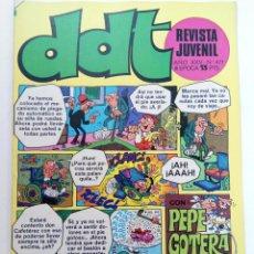 Tebeos: DDT - AÑO XXV Nº 477 (SIN USAR, DE DISTRIBUIDORA). Lote 221936167