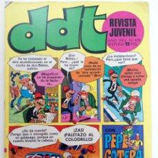 Tebeos: DDT - AÑO XXV Nº 476 (SIN USAR, DE DISTRIBUIDORA). Lote 221936282