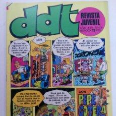 Tebeos: DDT - AÑO XXV Nº 474 (SIN USAR, DE DISTRIBUIDORA). Lote 221936636