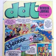 Tebeos: DDT - AÑO XXV Nº 457 (SIN USAR, DE DISTRIBUIDORA). Lote 221937196