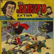 Tebeos: EL JABATO EXTRA- Nº 36 -¡CON LOS GALOS!-OSETE-BOB MORANE-1963-BUENO-ÚNICO EN TC-LEAN-3917. Lote 221964112