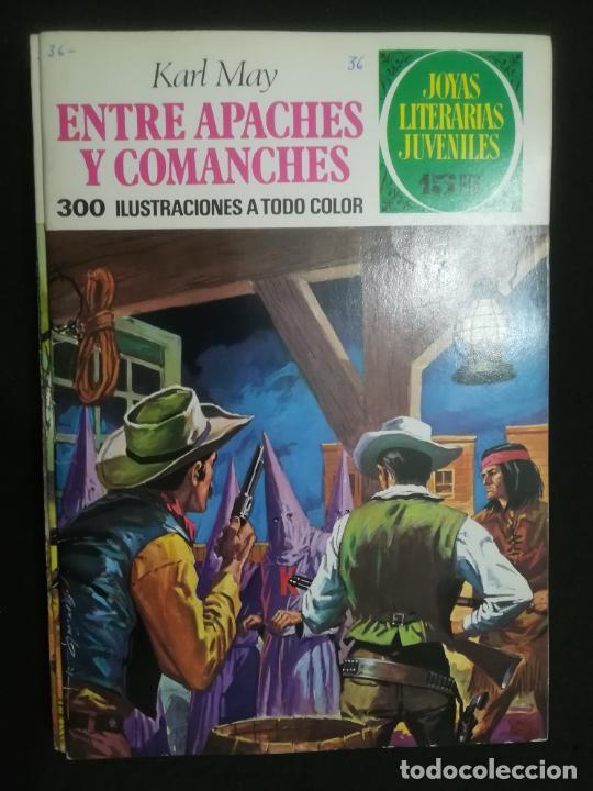 JOYAS LITERARIAS JUVENILES. Nº 36. TAPAS LABERINTO ROJO (Tebeos y Comics - Bruguera - Joyas Literarias)