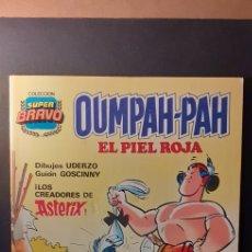 Tebeos: TEBEO SUPER BRAVO-OUPAH PAH -EL PIEL ROJA- NUMERO 1. Lote 221983496