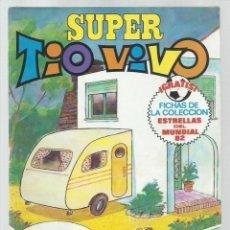 Tebeos: SUPER TIO VIVO 113, 1982, BRUGUERA, MUY BUEN ESTADO. CONTIENE FICHAS. Lote 222009197