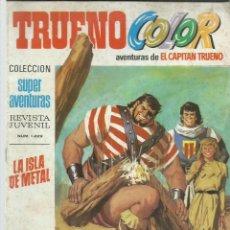 BDs: TRUENO COLOR 53, 1970, BRUGUERA. Lote 222009706