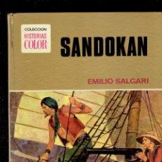 Tebeos: COLECCION HISTORIA SANDOKA POR EMILIO SALGARI N,10 EDITORIAL BRUGUERA 1 EDICION 1975. Lote 222016992