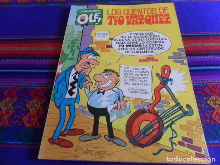BUEN ESTADO OLÉ Nº 25 LOS CUENTOS DE TÍO VÁZQUEZ. BRUGUERA 1ª PRIMERA EDICIÓN Nº EN LOMO 1971 40 PTS (Tebeos y Comics - Bruguera - Ole)