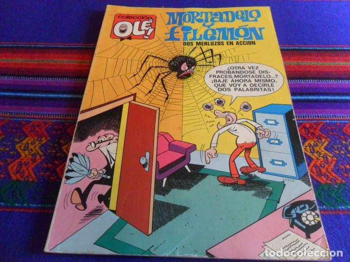 OLÉ Nº 35 MORTADELO. BRUGUERA 1ª PRIMERA EDICIÓN CON Nº EN LOMO. 1971 40 PTS. (Tebeos y Comics - Bruguera - Ole)