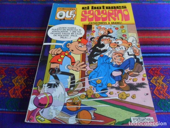 COMO NUEVO, OLÉ Nº 80 EL BOTONES SACARINO. BRUGUERA 1ª PRIMERA EDICIÓN Nº EN LOMO. 1973 40 PTS. (Tebeos y Comics - Bruguera - Ole)