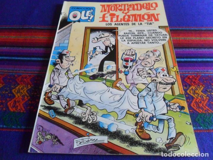 MUY BUEN ESTADO OLÉ Nº 124 MORTADELO. BRUGUERA 1ª PRIMERA EDICIÓN Nº EN LOMO. 1976 50 PTS. (Tebeos y Comics - Bruguera - Ole)