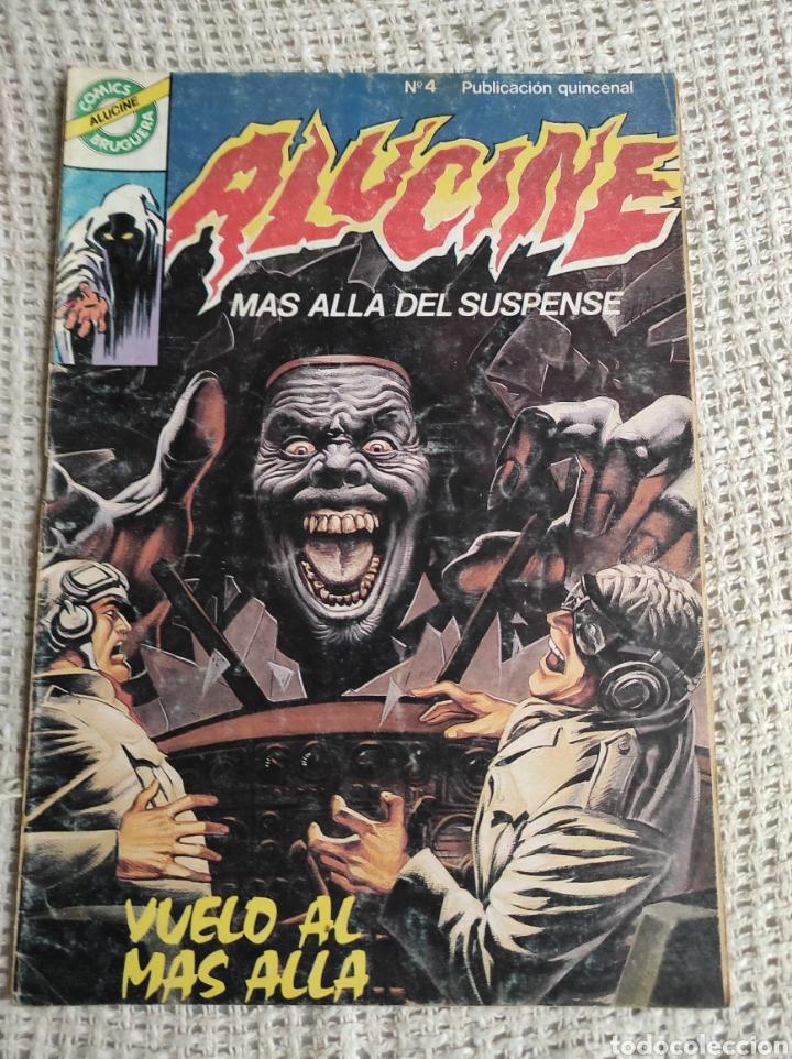 ALUCINE Nº 4 -ED. BRUGUERA (Tebeos y Comics - Bruguera - Otros)