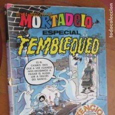 Tebeos: MORTADELO ESPECIAL TEMBLEQUEO - Nº 82 BRUGUERA -1980 CONTIENE EL JUEGO GIGANTE EN PERFECTO ESTADO. Lote 222063451
