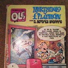 Tebeos: COMIC DE OLE MORTADELO Y FILEMÓN Y EL BOTONES SACARINO A MAMPORRO DIARIO AÑO 1980 Nº 194. Lote 222094278