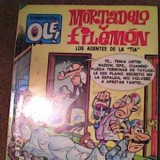 Tebeos: COMIC DE OLE MORTADELO Y FILEMON EN LOS AGENTES DE LA TIA DEL AÑO 1981 Nº 124. Lote 222094385